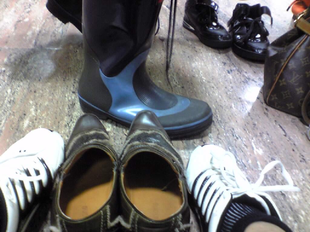 靴。そして靴!